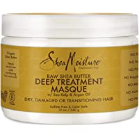 Shea Moisture Raw Shea Butter Deep Treatment Masque For Dry, Damaged or Transitioning Hair 12 oz.