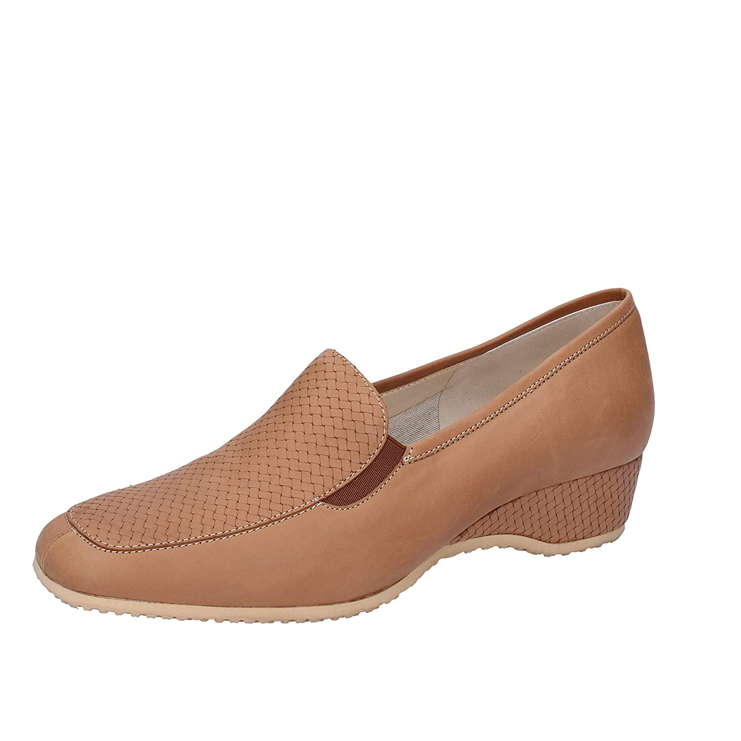 COMODISSIMA Loafers-Shoes Womens Leather Brown