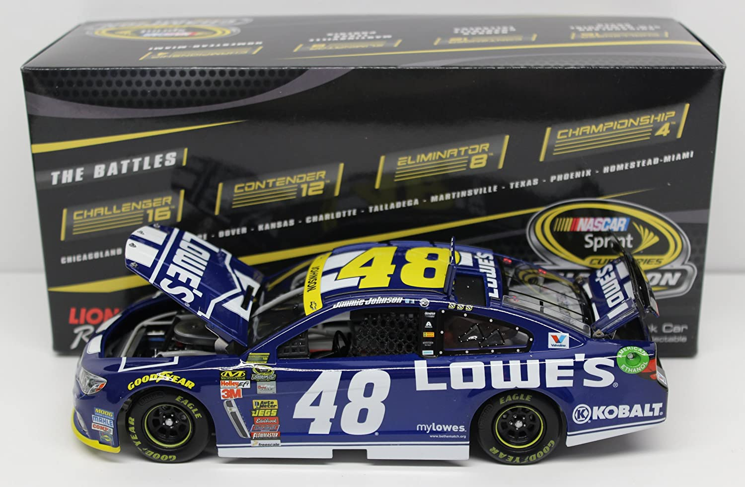 B00NC7KYHW Action Racing Jimmie Johnson 2014 Chase Lowes 1:24 Nascar Diecast 81uH9Xz4RfL.SL1500_