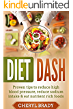 Diet Dash: Proven Tips To Reduce High Blood Pressure, Reduce Sodium Intake & Eat Nutrient Rich Foods