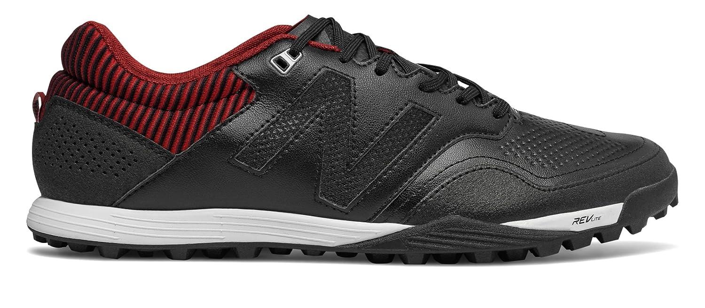 (ニューバランス) New Balance 靴シューズ メンズサッカー Audazo 2.0 Pro TF Black with Burgundy and Silver ブラック バーガンディ シルバー US 9 (27cm) B07C1H52QJ