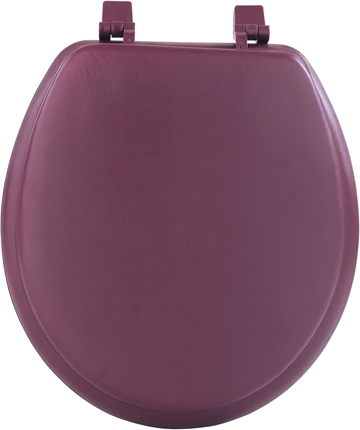 Achim Home Furnishings Burgundy TOVYSTBU04 17-Inch Fantasia Standard Toilet Seat, Soft