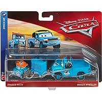 Hot Wheels FLH62 Disney Cars Character Dinoco & Roger