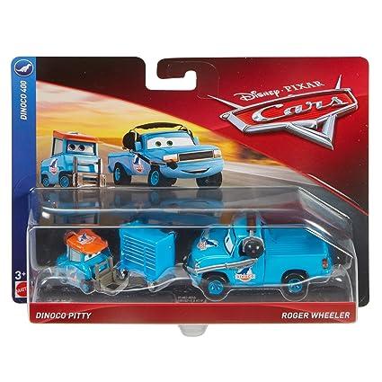 Amazon Com Disney Pixar Cars Character Car Dinoco Pitty Crew