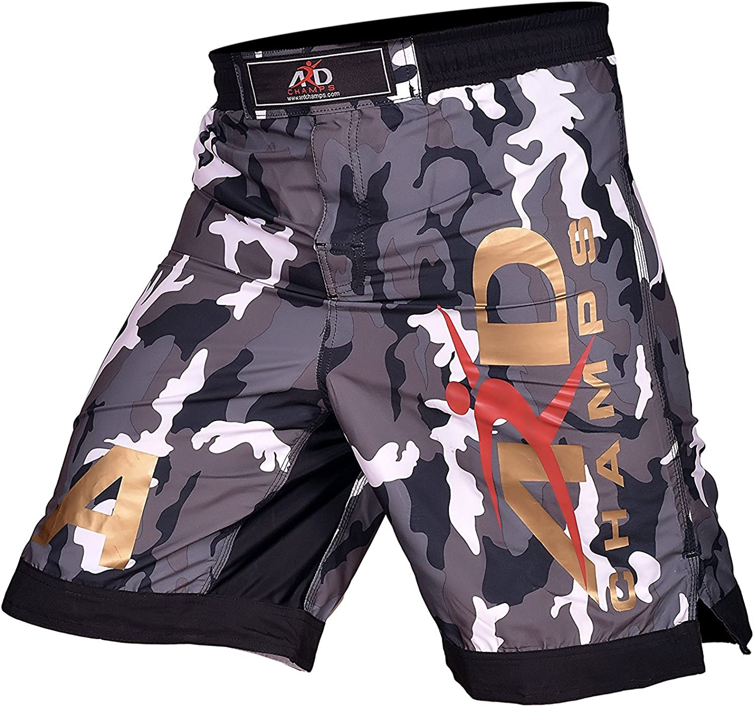 ARD CHAMPS™ Pro MMA Fight Shorts UFC Cage Fight Grappling Muay Thai Boxing