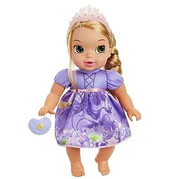 Amazon.com: Disney Princess Deluxe Baby Rapunzel muñeca con ...
