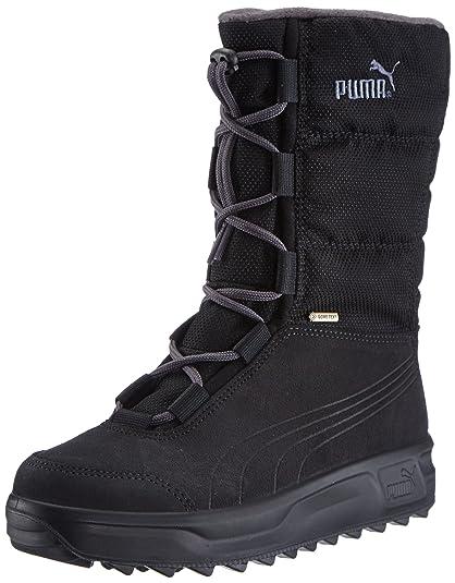 UK Shoes Store - Puma Borrasca Iii Gtx Snow Adult Mixed Boots Black - Schwarz (black-dark shadow-b