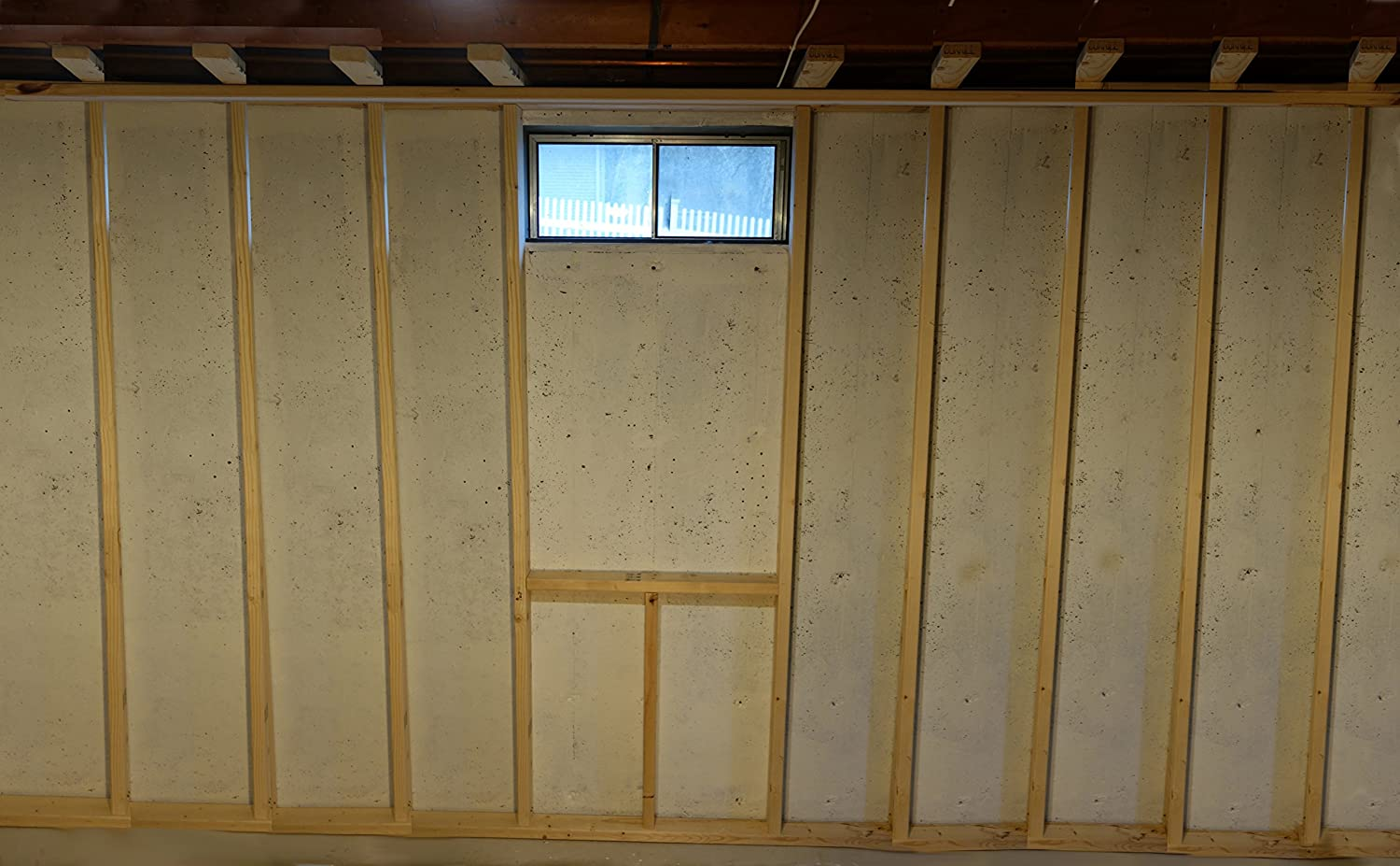 Chase virtual window for rooms that have no real window great for basements turns that small high basement window into a full size window