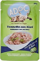 ADOC Naturale Tonnetto e Kiwi per gatti adulti, confezione da 30 pezzi