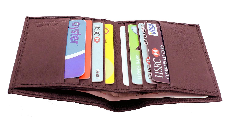 RAS Men\'s RFID Safe Soft Genuine Leather Credit Card & Banknote ...