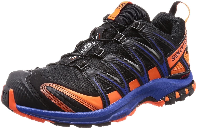[サロモン] SALOMON トレッキングシューズ XA PRO 3D ゴアテックス 防水 登山靴 B074NWS7L2 28.0 cm|ブラック/ オレンジ ブラック/ オレンジ 28.0 cm