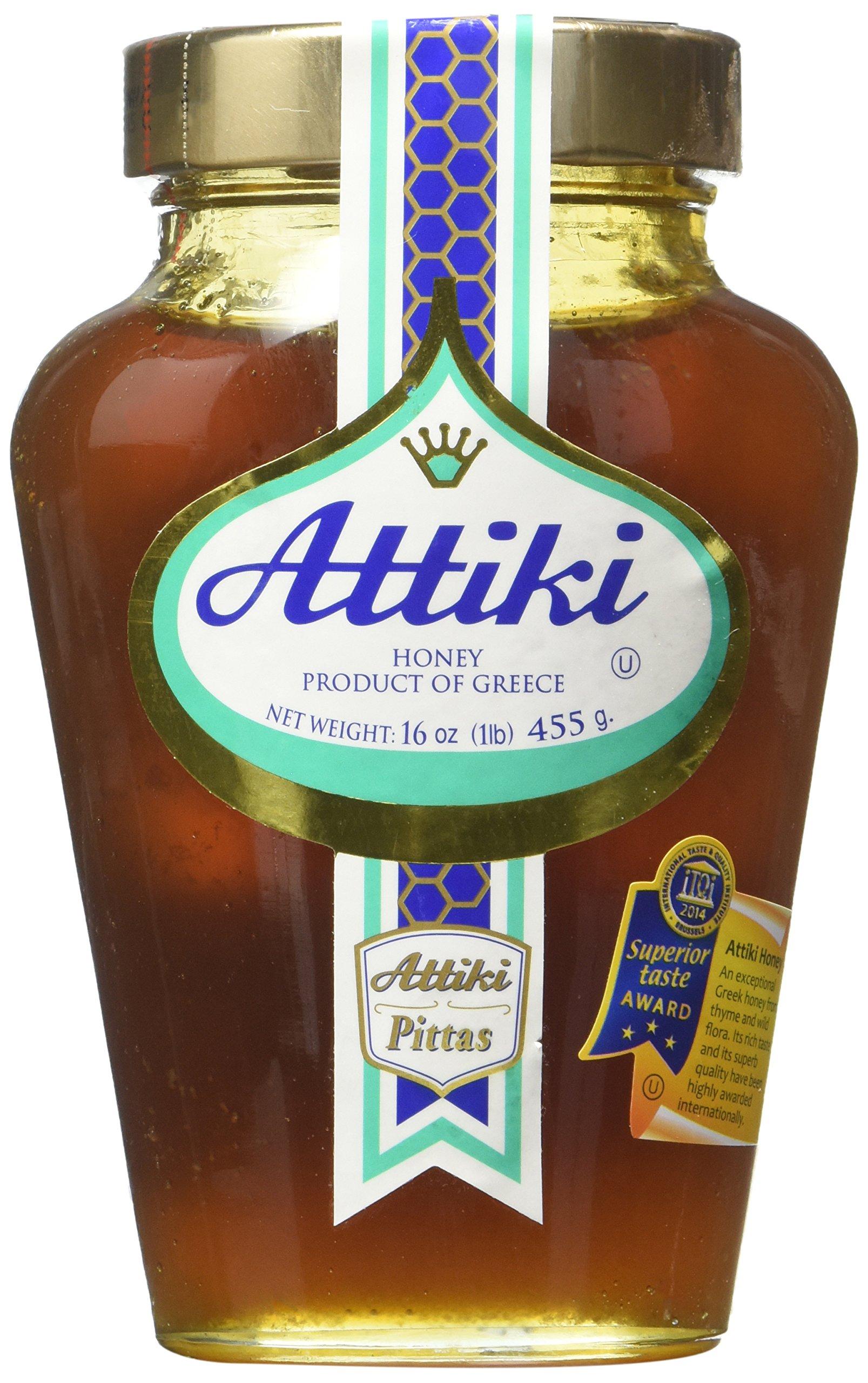 Attiki Greek Honey 16 Oz Jar