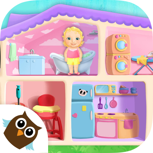 (Sweet Baby Girl Doll House - Play, Care & Bed)