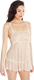 product image for Between The Sheets Women's Petal Play Lace Babydoll