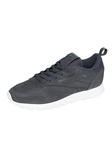 df7486f37a0e4 Reebok Femme Chaussures Baskets Classic Leather MN Gris 41  Amazon ...
