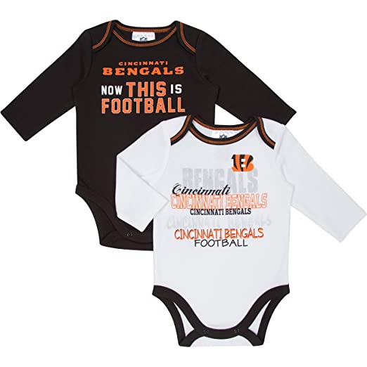 a46991a5 NFL Cleveland Browns LLC Long Sleeve Bodysuit (2 Pack)