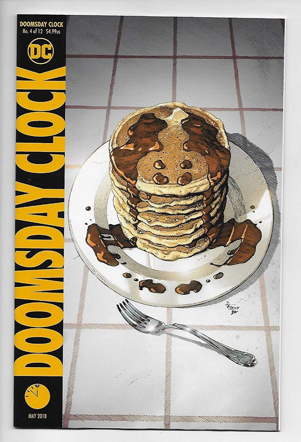 Doomsday Clock #4 (DC, 2018) NM