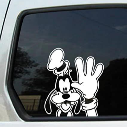 Auto sticker auto decal disney character goofy auto window sticker decal for
