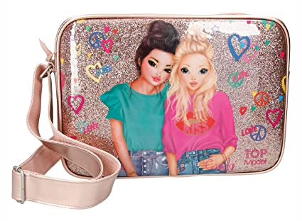 a18b80440e83 Buy TopModel Shoulder Bag Friends Gold Online at Low Prices in India ...
