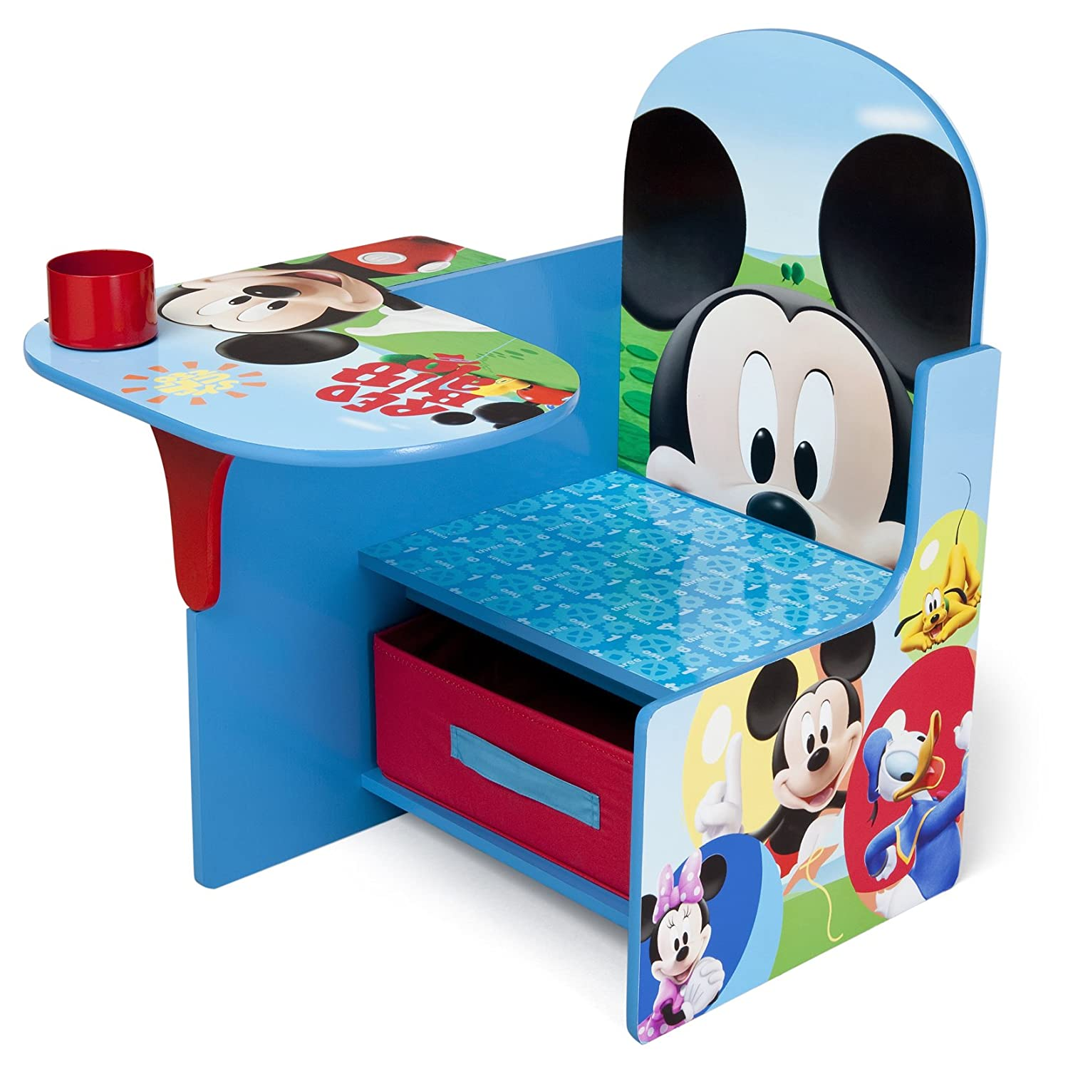 Disney Mickey Mouse Chair Desk with Storage Delta Enterprise TC85664MM