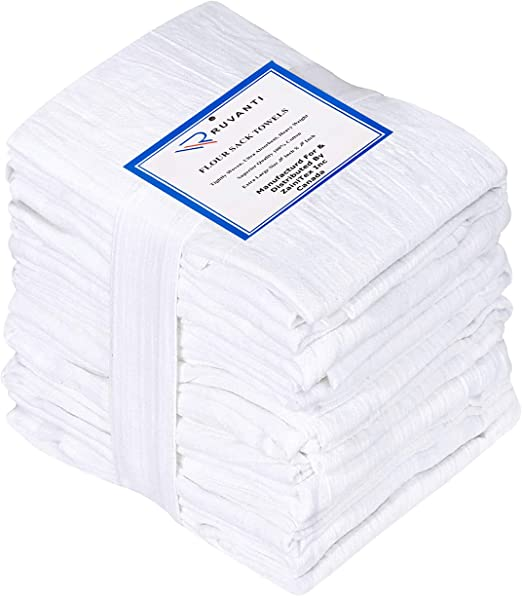 NEW VINTAGE REPRODUCTION DARLING RAVISHING RADISHES FLOUR SACK DISH TOWEL TOWEL