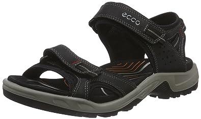 ECCO Men's Yucatan II Outdoor Sandal, Black, 48 EU/14-14.5 M