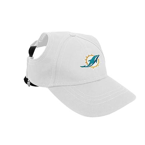 59a0ed5f Amazon.com : Miami Dolphins Pet Baseball Hat - Medium : Pet Supplies