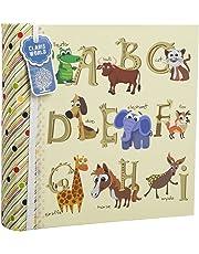 Grande album porta foto per bambini, decorato con lettere dell'alfabeto e numeri, idea regalo, contiene 200foto da 10x 15cm