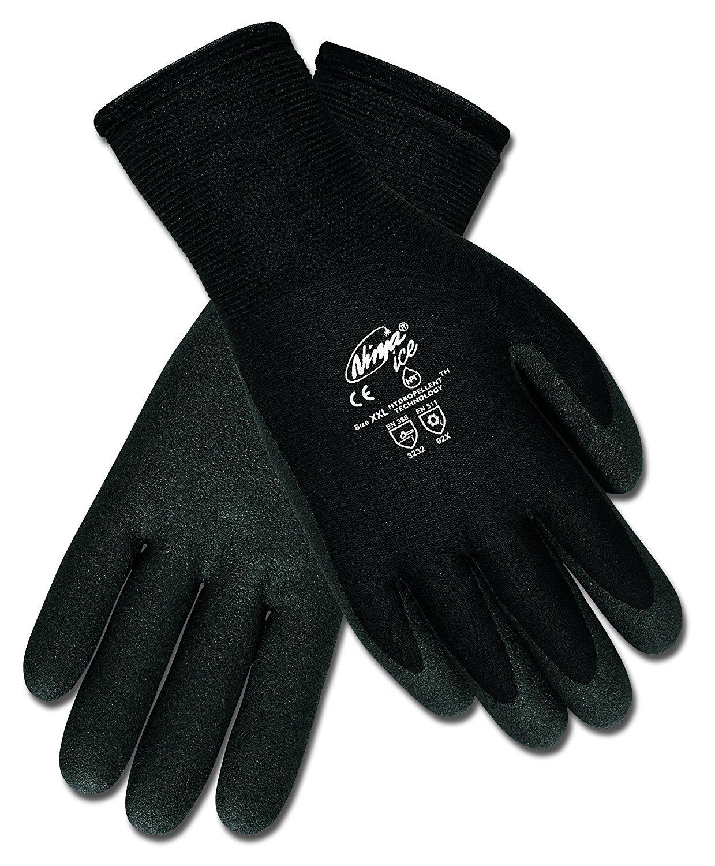 Safety Works CN9690M Coated Nylon Gloves, Medium 2-Pack