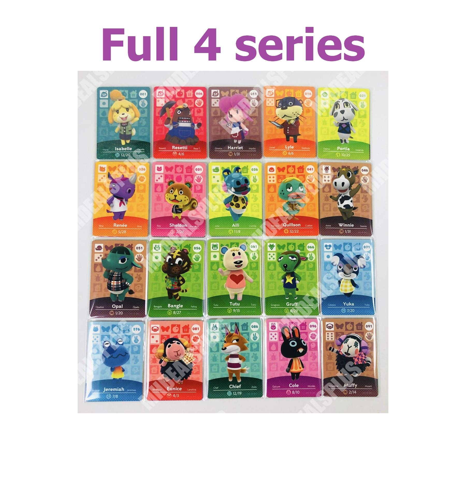 High Rated New Crossing 301-400 Cards Full Complete Set Series 4 US Version Quick Arrive