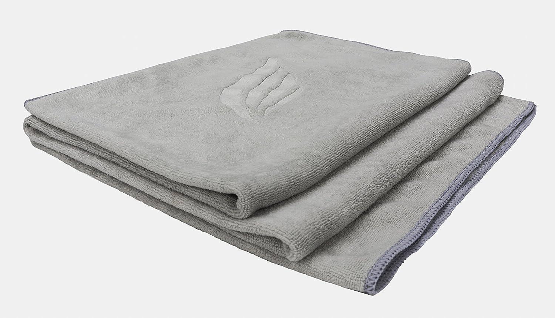 Toalla de microfibra de alta calidad – medidas: 140 x 70 cm, diseño compacto, ultra absorbente y muy suave – toalla de playa ligera, toalla para deportes, ...