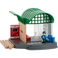 Brio Train Station, 4 Pieces Train Set