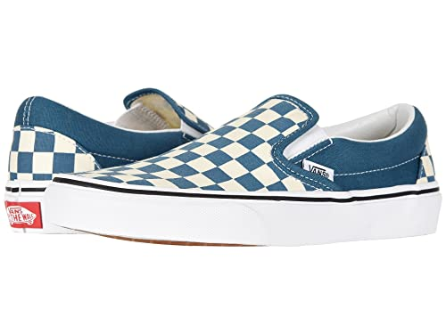 6f6a6bf2bbf6 Vans Unisex Checkerboard Slip-On Skate Shoes (40.5 M EU   9.5 B(M) US Women    8 D(M) US Men