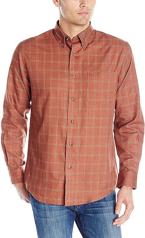 Pandapang Mens Slim Fit Button-Down Pure Color Long Sleeve Lapel Casual Shirts