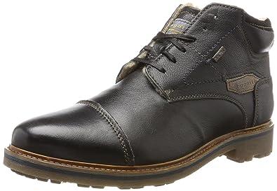 Mens 311180511010 Classic Boots, Black Bugatti