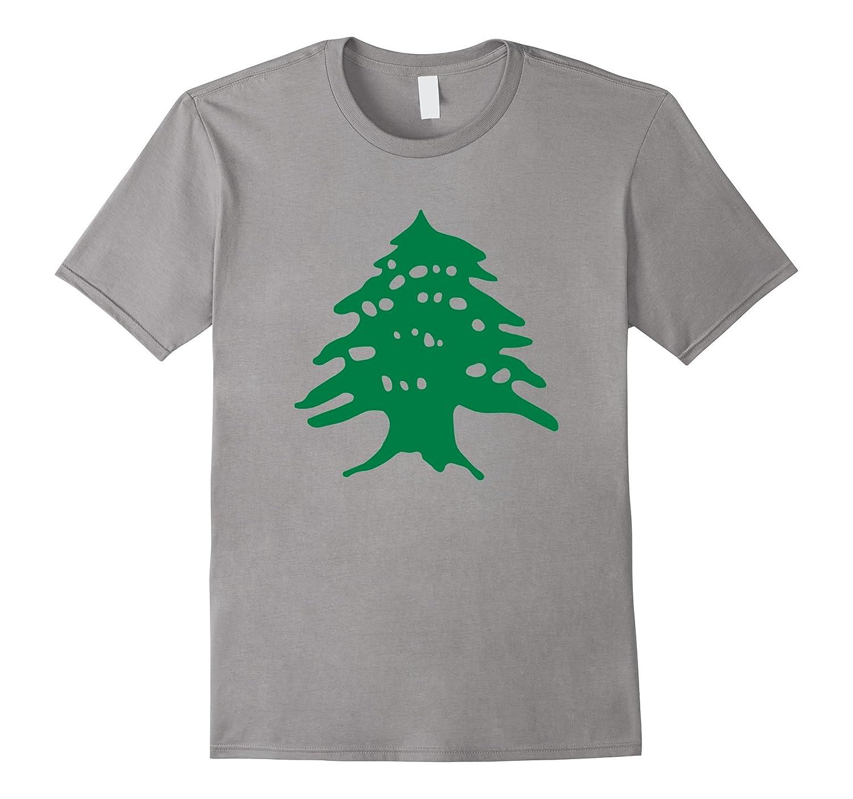 Green Cedar T-Shirt Lebanon Cedar T-Shirt-ANZ