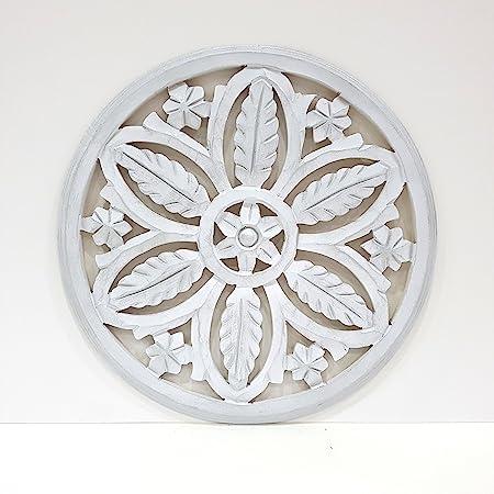 Mandala de Pared, Fabricada artesanalmente en España- Tamaño 40x40 ...