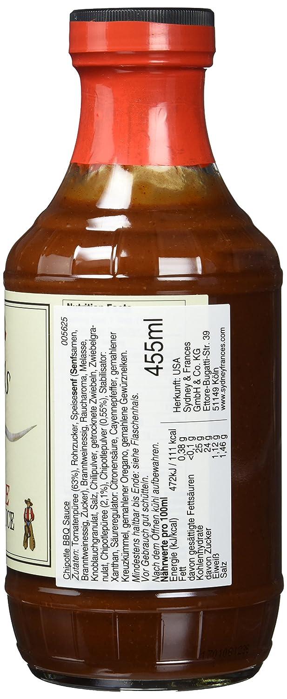 Old Texas Chipotle BBQ Sauce 455ml: Amazon.de: Lebensmittel & Getränke