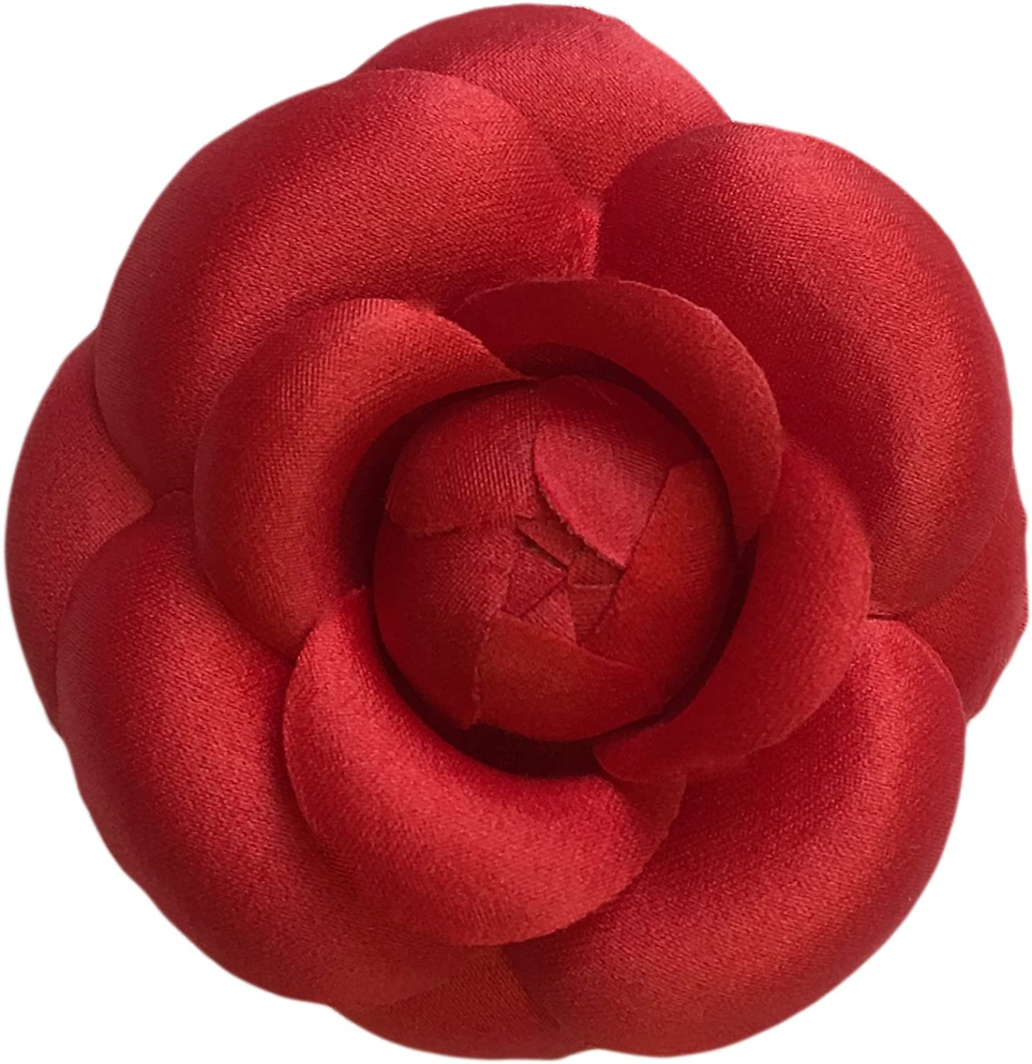fabric brooch Camelia brooch Gift for Her flower for suit Gift for mom dress /& hat decoration popular bridesmaid gifts christmas gift