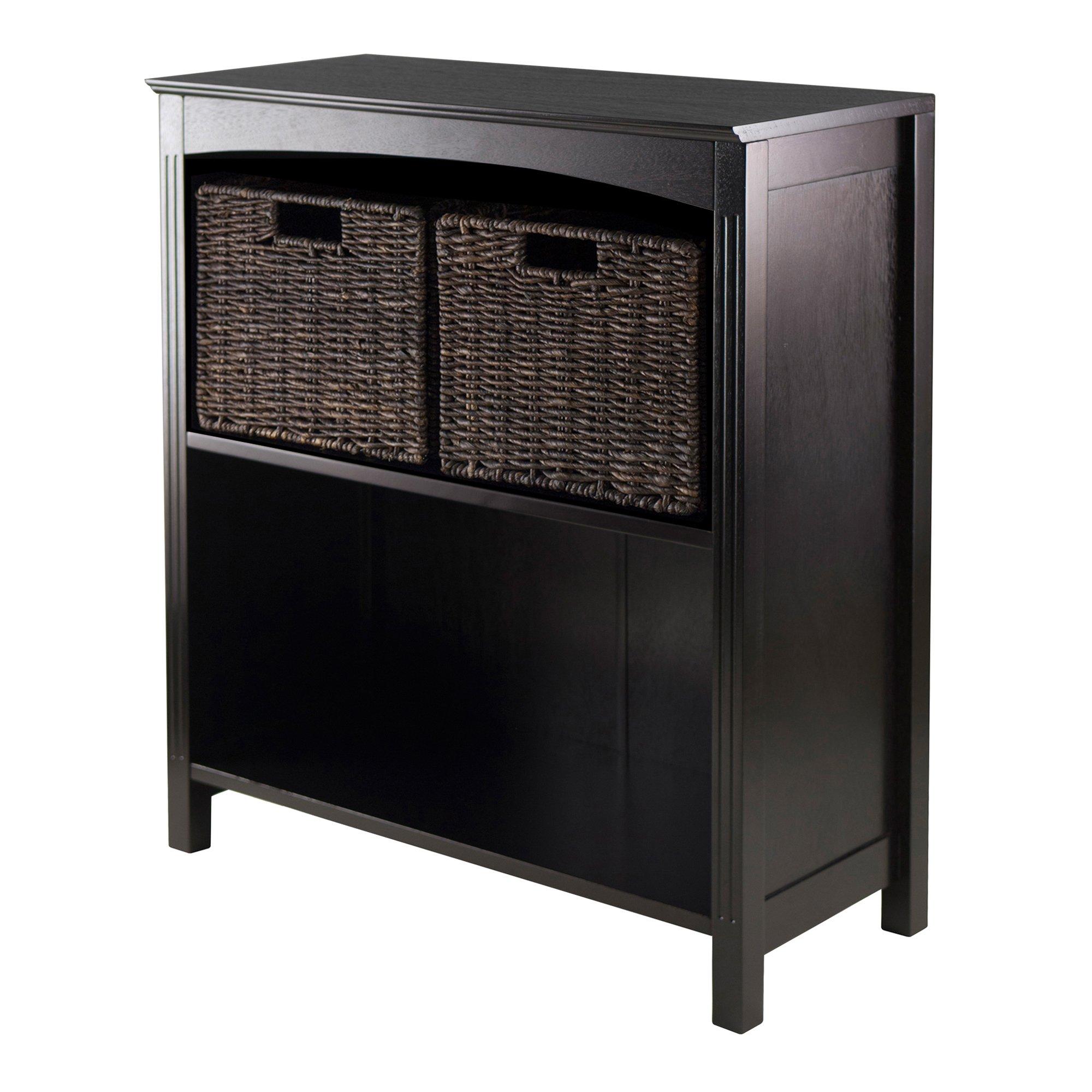 Winsome Terrace 3-Piece Storage Shelf/Bookcase, 26 by 11.8 by 30-Inch