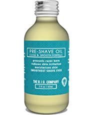 The B.I.G. Company - Pre Shave Oil - 60ml / 2oz Shaving Oil - Use with Straight Edge or Safety Razor - Classic Barbershop Scent - Shaving Guide ebook Included