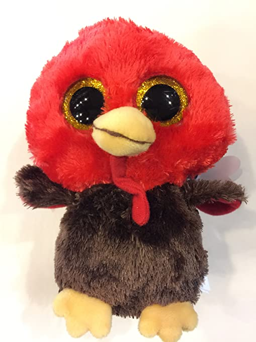 f2c39cc743d Amazon.com  Ty Beanie Boos Turkey  Feathers ( special edition) by Ty toys   Toys   Games