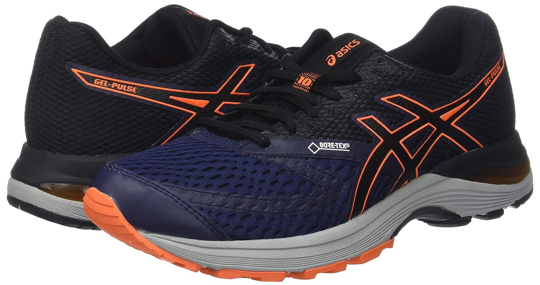 Asics Gel-Pulse 10 G-TX, Zapatillas de Entrenamiento para Hombre, Morado (Peacoat/Black 400), 41.5 EU: Amazon.es: Zapatos y complementos