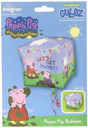 Amscan - Globos Peppa Pig (2929701): Amazon.es: Juguetes y ...