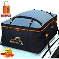 RoofPax Car Roof Bag & Rooftop Cargo Carrier. 19 Cubic Feet. 100% Waterproof Excellent… photo
