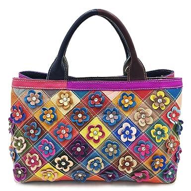 Frau Hollow Rose Handtasche Europa Und Den Vereinigten Staaten Mode Handtaschen Glänzende Handtasche Personalisierte Umhängetasche,Winered-OneSize CHENGXIAOXUAN