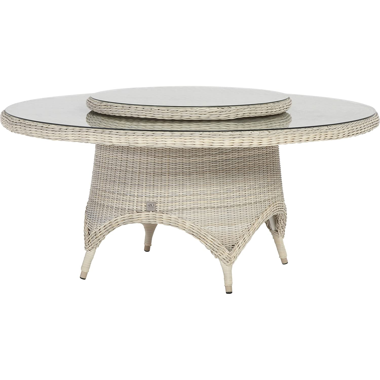 4Seasons Outdoor Victoria dining Tisch ø 170cm mit Drehteller ...