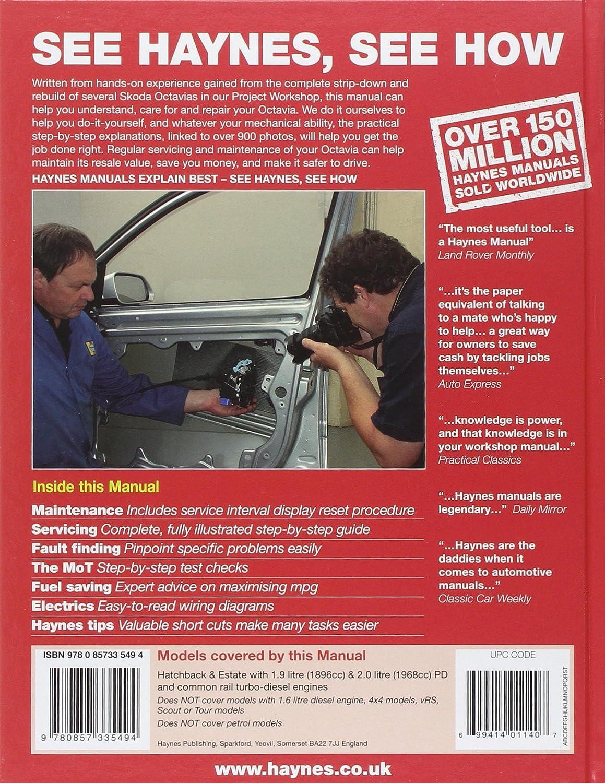 Skoda Octavia Diesel Service and Repair Manual: 04-12 (Haynes Service and Repair  Manuals): Chris Randall: Amazon.co.uk: Car & Motorbike