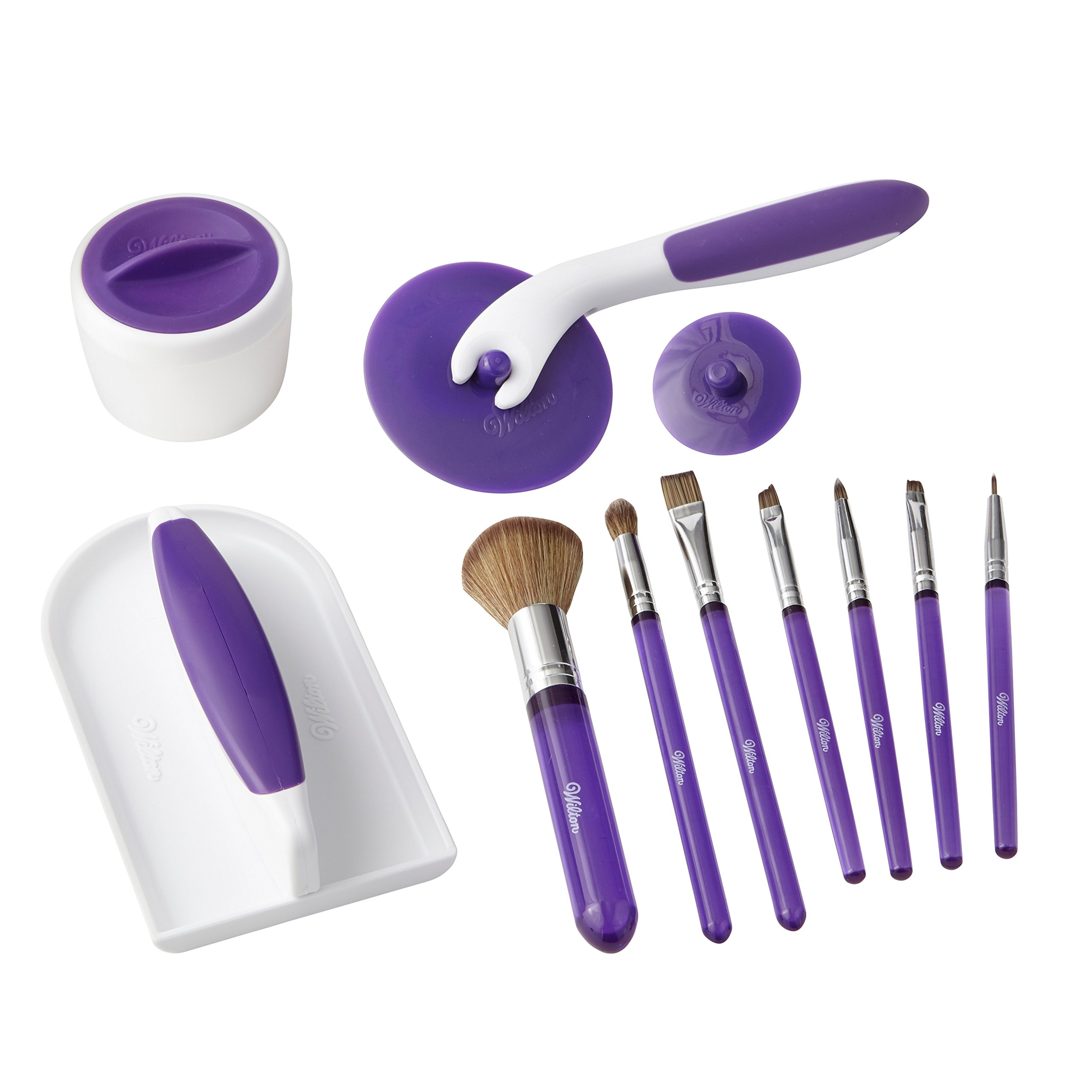 Wilton Decorate with Detail Brush Set for The Adventurous Cake Decorator, Cake Decorating Supplies