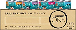 Purina ONE True Instinct Recipes Wet Cat Food - (24) 3 oz. Cans
